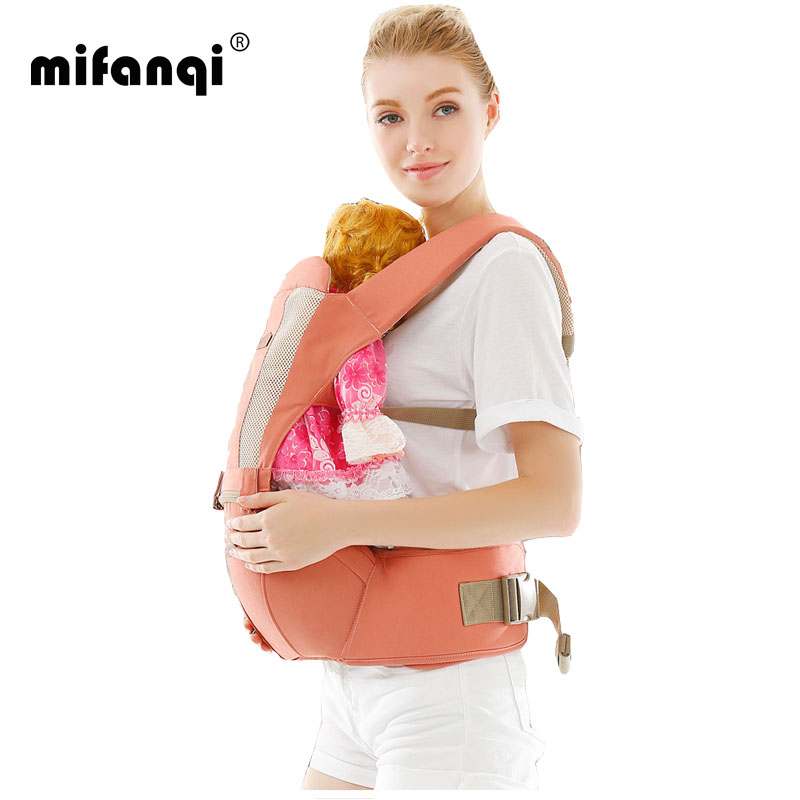 Baby Carrier Cover 4 6 Months Kangaroo Baby Wrap Front Facing Cotton Backpacks Carriers Tabouret Porte