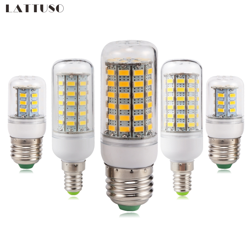 LATTUSO LED Bulb Lamp E27 E14 220V SMD 5730 5W 12W 20W 25W 30W Light Bulbs Lampada LED Diode Lamps Energy Saving Lights For Home