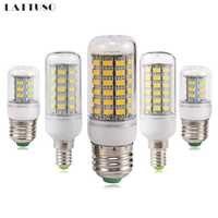 LATTUSO bombilla LED E27 E14 220V SMD 5730 5W 12W 20W 25W 30W bombillas lámparas LED de diodo lámparas de ahorro de energía para el hogar