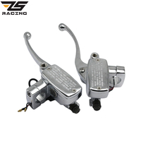 ZS Racing New 1 Inch 25mm Universal Motorcycle Brake Master Cylinder Hydraulic Clutch Lever Left Right