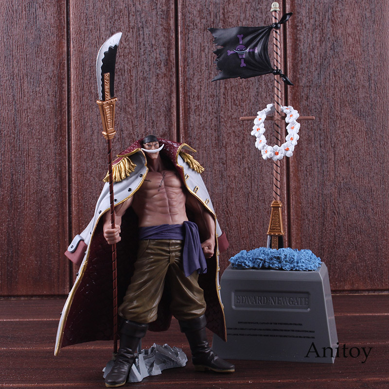 DXF One Piece Figure The Grandline Men Special Whitebeard Edward Newgate & Gravestone PVC Action Figure Collectible Model Toy 2