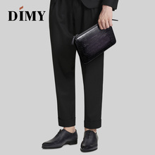 Hand bag men's leather 2019 new large-capacity men's fashion trend business clutch bag casual soft leather clutch bag недорого
