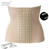 ZTOV Plus size Women waist training corsets and bustiers Black postpartum maternity belt women slimming waist corset body shaper Belly Bands & Support