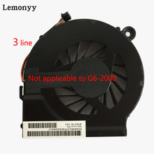 NEW laptop fan FOR HP Pavilion G7 G6 G4 G4t G6t G7t 646578-001 724870-001 laptop CPU cooling fan cooler(China)