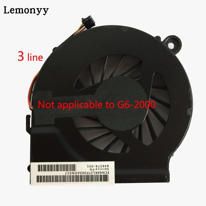 NOUVELLE ventilation pour ordinateur POUR HP Pavilion G7 G6 G4 G4t G6t G7t 646578-001 724870-001 ventilateur de refroidissement de processeur pour ordinateur portable refroidisseur