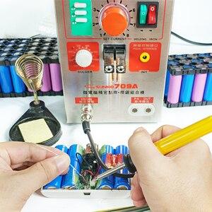 Image 5 - SUNKKO 709A zgrzewarka punktowa z piórem spawalniczym 1.9kw zgrzewarka punktowa zgrzewanie punktowe impulsowe do produkcji 18650 akumulatorów 110V/220 ue usa