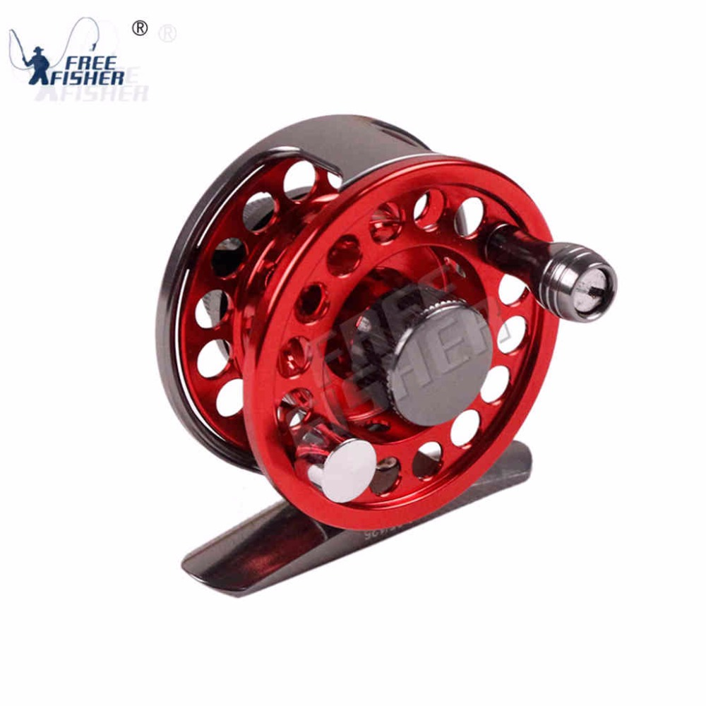 FreeFisher Fly Fishing Reel Arbor Die Casting Aluminum Fly Wheel