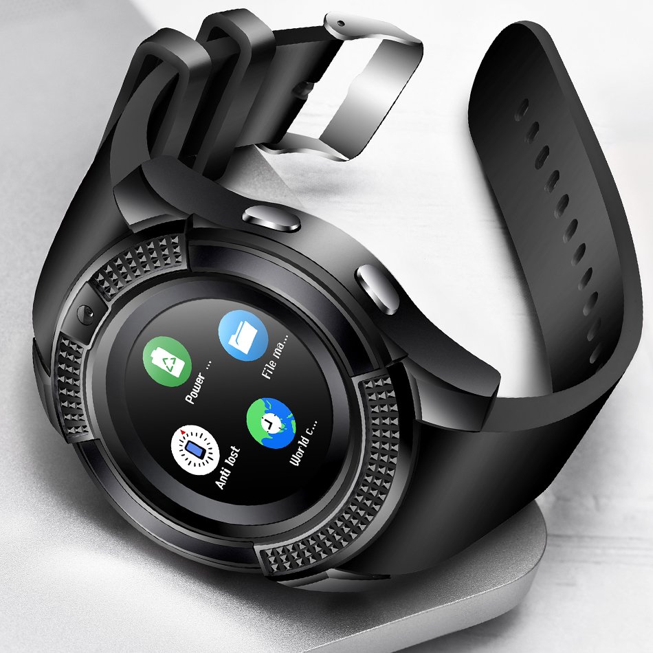 Digital Watches Wholesale Price Smart Watch Wristwatch Support With Camera Sim Tf Card 1.56 Inch Display Smartwatch For Ios Android Phones To Adopt Advanced Technology