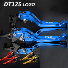 CNC Motorcycle Brake Clutch Levers Foldable Extendable Adjustable For Yamaha DT125RE DT 125 RE dt125re 2004-2007 2005 2006 for yamaha yfm700 raptor 700r 2000 2006 3d rhombus hollow motorcycle brake clutch levers for dt125 re dt125 r dt 125 2004 07