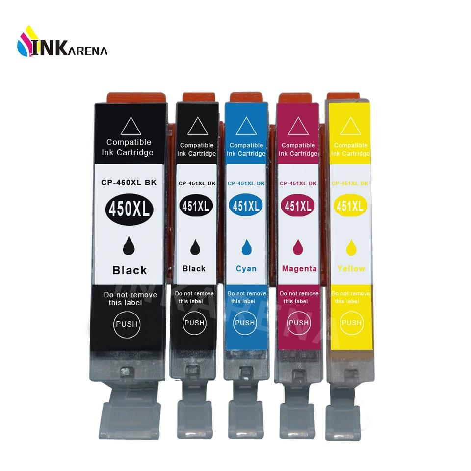 PGI450 pentru cartușe de cerneală Canon PGI-450 CLI-451 complet cu cerneală pentru Canon Pixma IP8740 IP7240 MG5540 IX6840 Imprimanta IX6540