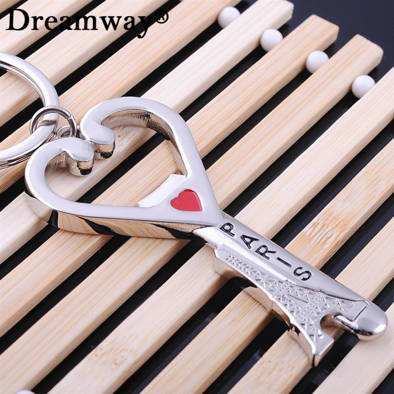 buy paris eiffel tower souvenirs key chain heart bottle opener keychains. Black Bedroom Furniture Sets. Home Design Ideas