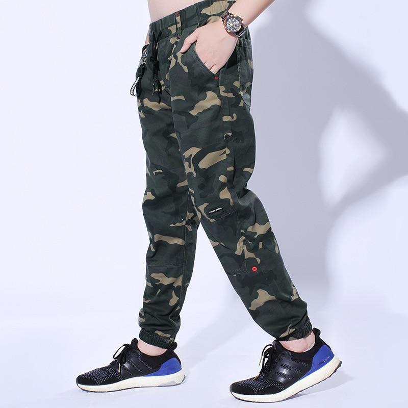 Active Men Fashion Cargo Pants Jogger Pants Men Easy Camo Wash Pants