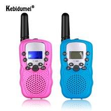Kebidumei T-388 walkie talkie brinquedos para crianças rádio em dois sentidos portátil multi canal crianças rádio para meninos meninas presente de aniversário