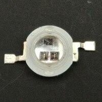Diodo infrarrojo de alta potencia de 3W, lámpara led de 850nm IR integrada, paquete de chips de 40mil, 120 grados, 1400mA, 3 uds.
