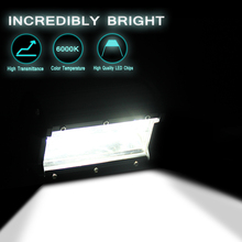72W Combo LED Light Bar 5500LM Spot Flood Driving Light for Off Road Lights Motorcycle Boat Light SUV 4X4 4WD ATV for Jeep Lamp