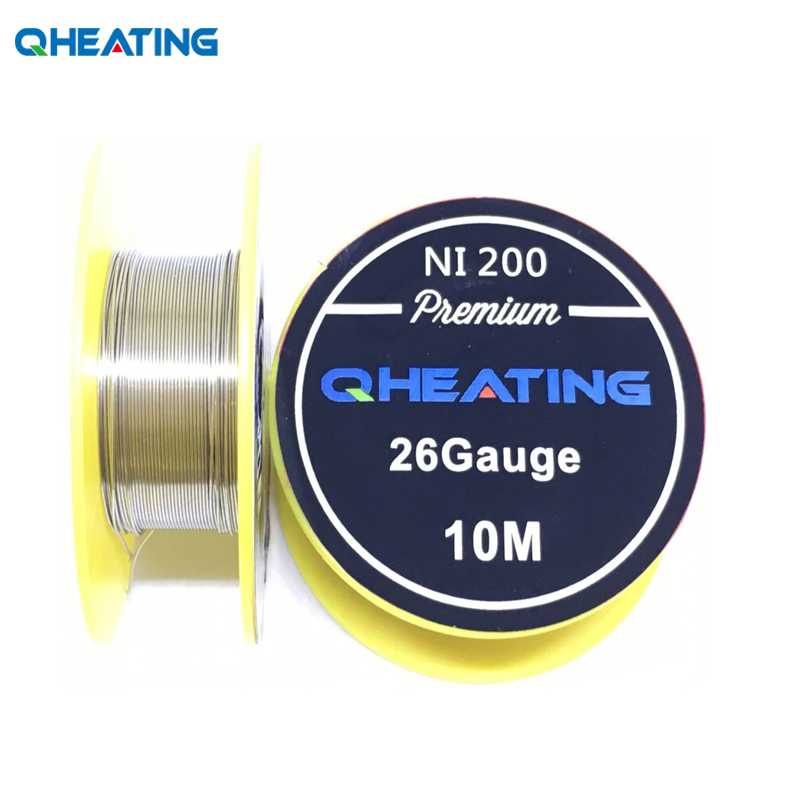 Qheating Ni200 Heating Wire 10m/roll 26ga For Electronic Cigarette RDA