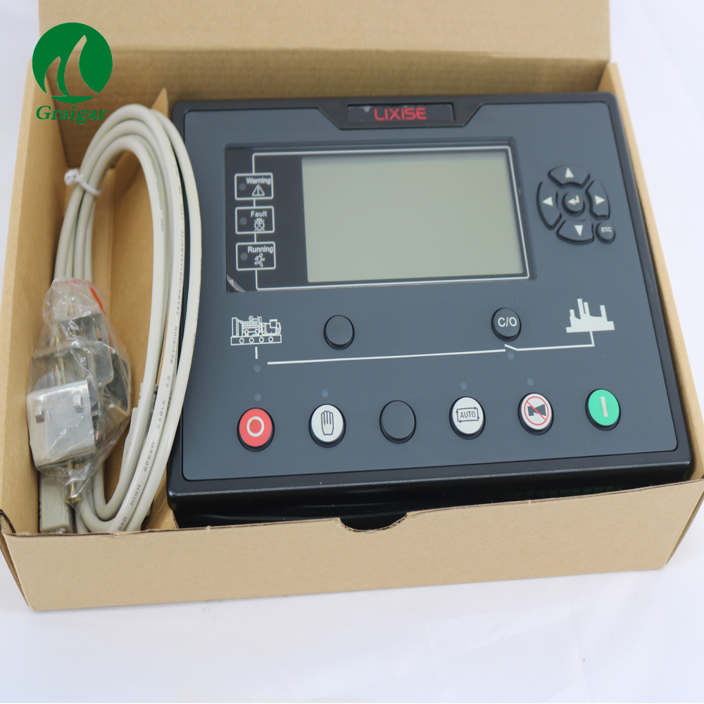 LXC7210 diesel generator controller electrical auto start control panel replacement of DSE7110/DSE7210/DSE7310