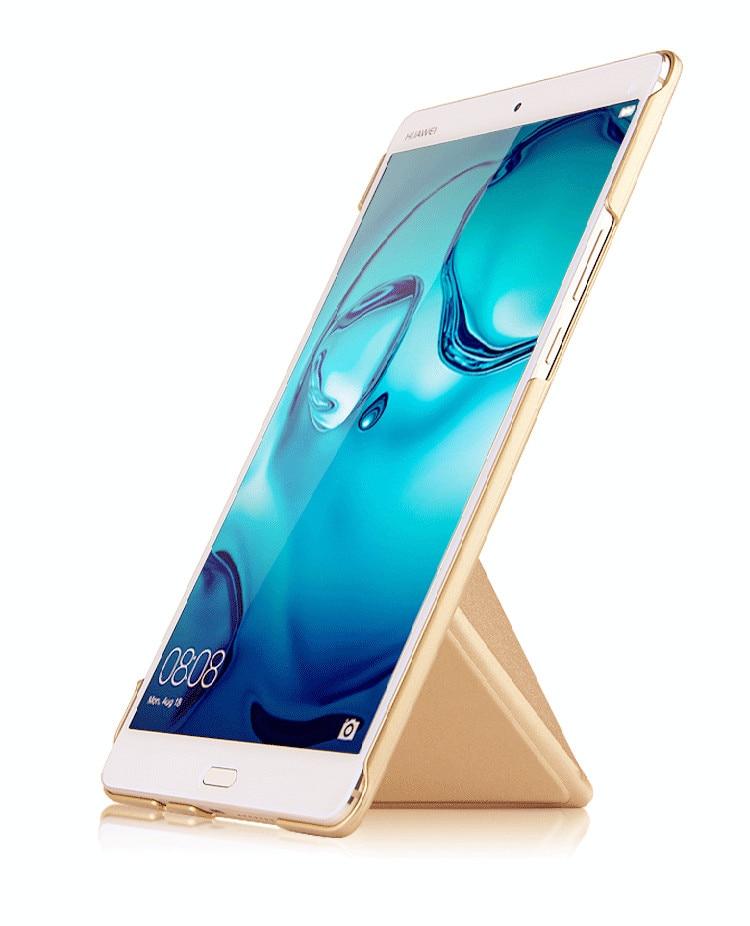 Funda de cuero de PU para Huawei MediaPad M3 Tableta elegante - Accesorios para tablets
