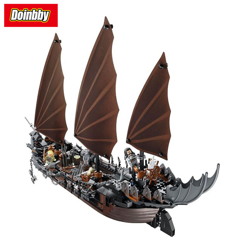 LEPIN 16018 Pirate Ship Ambush The lord of rings Series Building Block Set Bricks KitsToys 756Pcs Compatible 79008 jonsbo lord of the rings mod screw set red