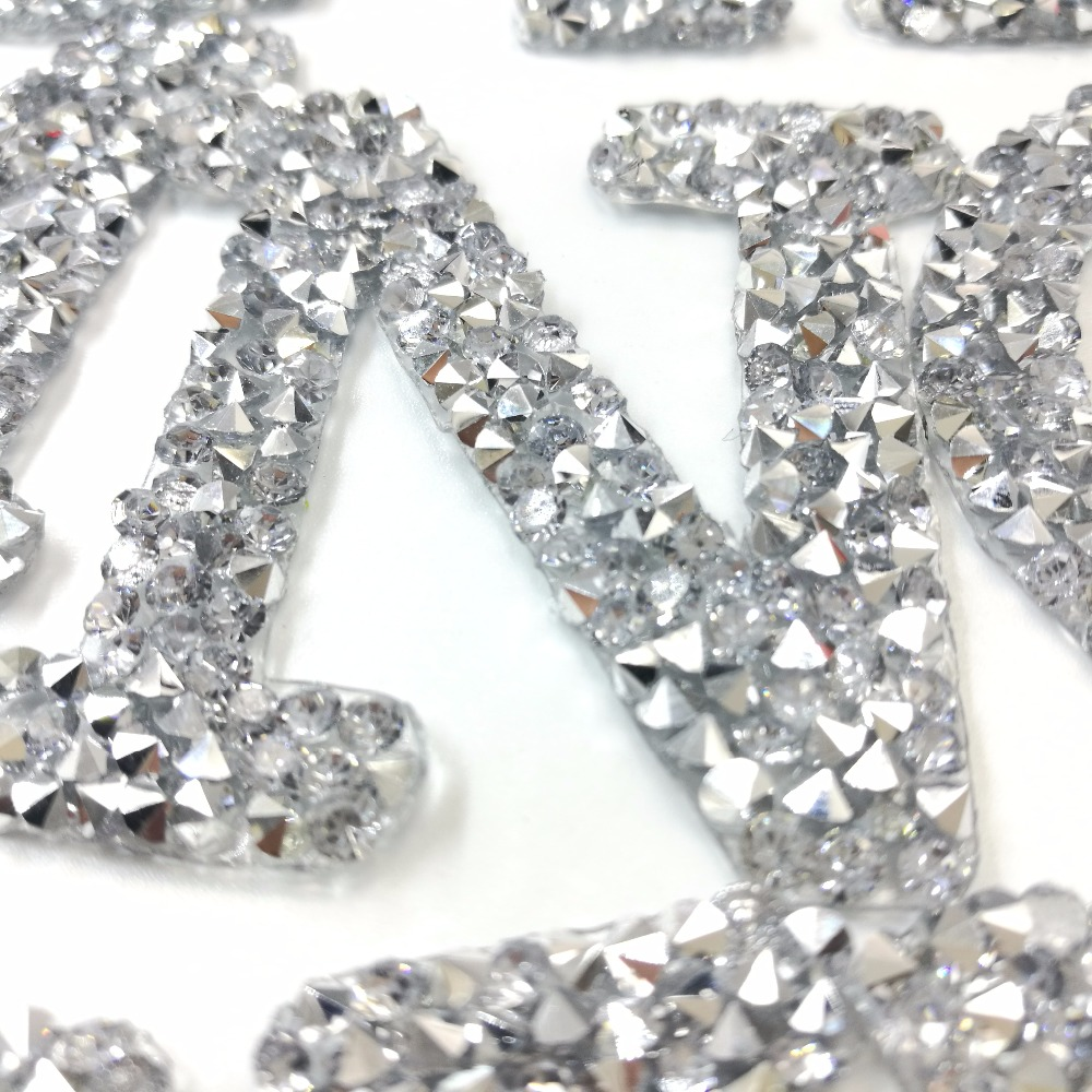 HTB1eVnTnbGYBuNjy0Foq6AiBFXaz A-Z 1PC Rhinestone English Alphabet Letter Mixed Embroidered Iron On Patch For Clothing Badge Paste For Clothes Bag Pant shoes