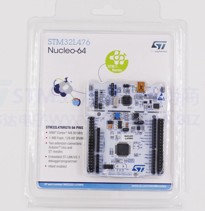1PCS~5PCS/LOT  NUCLEO-L476RG  NUCLEO-64  STM32L476  Development Board