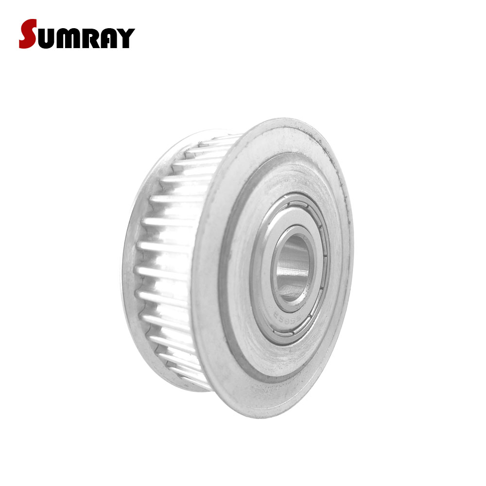 SUMRAY GT2 Timing Pulley 40T Idler Timing Pulley Bore 4/5/6/8/10mm Gear Belt Pulley Fit 6/10mm Belt Width GT2 Timing Belt стоимость