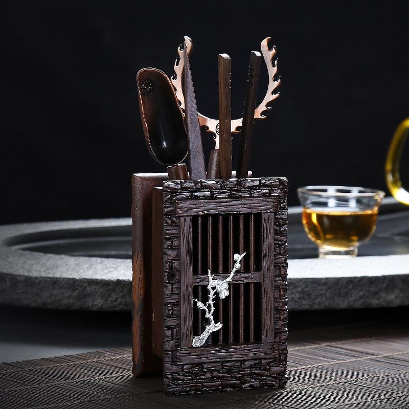 Ebony Tea Ceremony Set 5