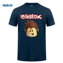 2da5aa02aa658 GILDAN Roblox Character Head Adult T Shirt Cool Normal Loose T-Shirt Men  Long Sleeve