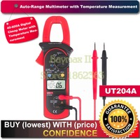 Uni T Ut204A AC DC Lcd Digital Clamp Multimeter DMM 600a Voltage Current Resistance Frequency Test