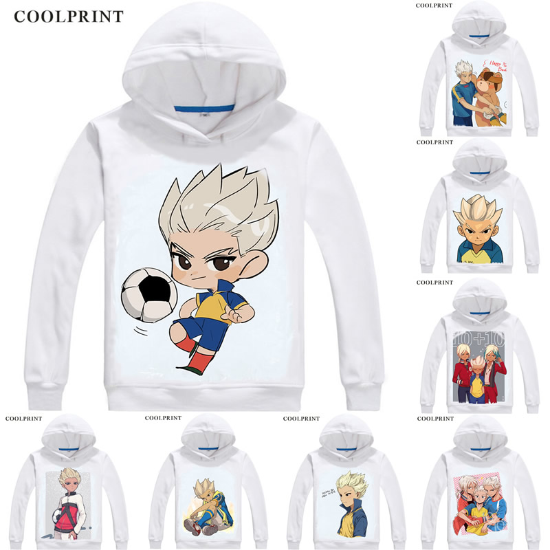 Coolprint Gouenji Shuuya Mens Hoodies Inazuma Raimon Eleven Japan Men Sweatshirt Streetwear Anime Hoodie Printed Long Hooded