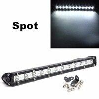 13 Inch 36W Car LED Work Light Spot Light Bar Super Bright Safety Driving Light Waterproof