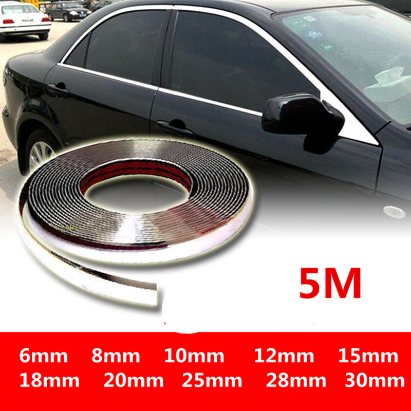 Roll Mirror Chrome Red Vinyl Self Adhesive 1M 2M 3M 5M 10M Indoor Outdoor Use