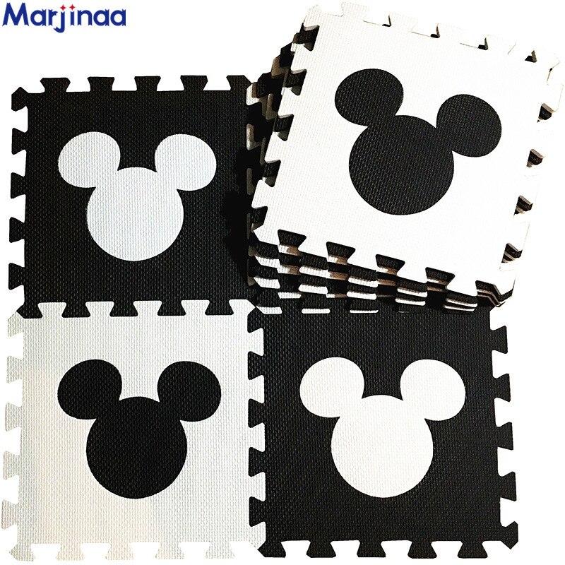 Mat/rug/carpet Mikey Type Baby Tasteless Environmental Protection EVA Cartoon Sleeping Mat Puzzle Mat/30*30cm,free Shipping