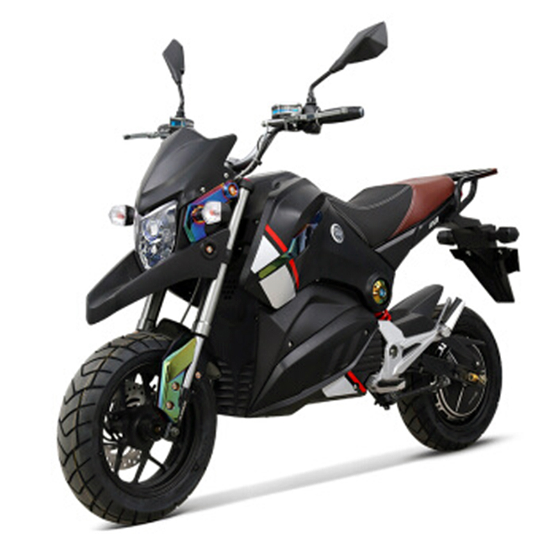 Adult electric motorcycle 72V 1500W citycoco electric bike ASC intelligent power supplement electric motorcycles