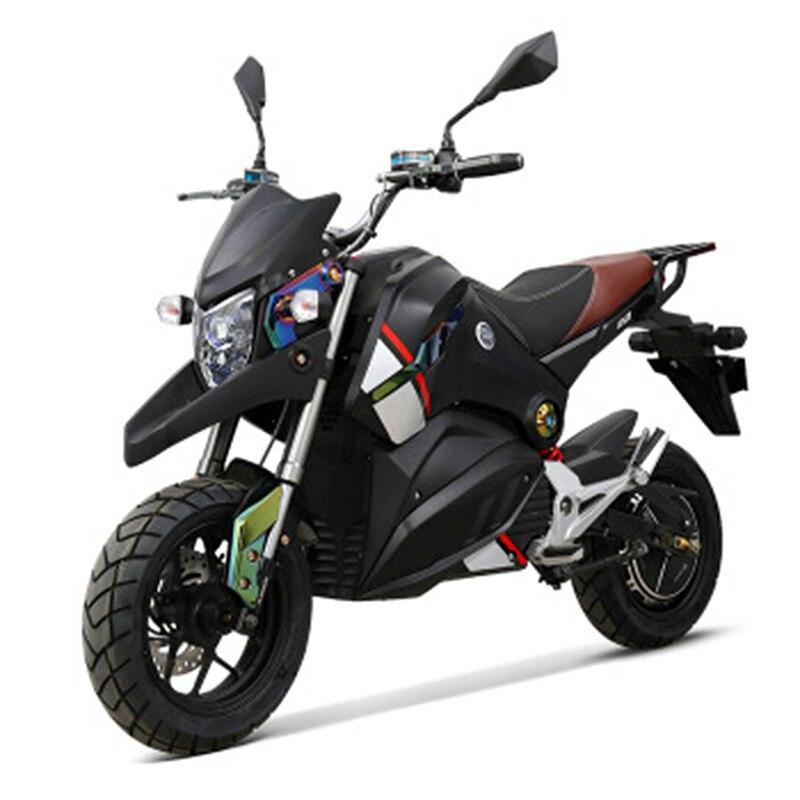 Moto électrique adulte 72 V 1500 W citycoco vélo électrique ASC intelligente puissance supplément motos électriques