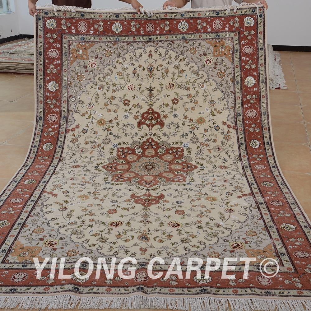 Yilong 6 X9 Fait Oriental Laine Commercial Tapis A La Main Exquis
