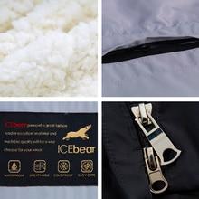 ICEbear 2016 Long Soft Gentle Wool Hooded Solid Winter Jacket Coat For Women Belt Women's Brand Parka 16G661D