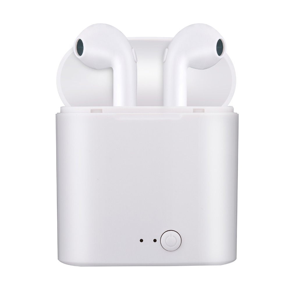 5pcs/lot with retaile box i7 i7s TWS Bluetooth earphone Wireless Headphones Headsets Stereo In-Ear Earphones Charging Box box