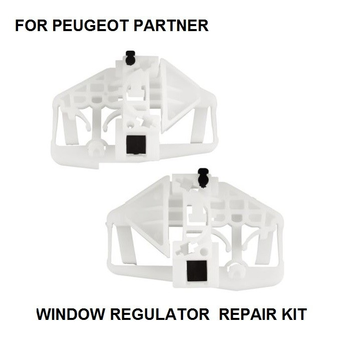 FOR PEUGEOT PARTNER WINDOW REGULATOR REPAIR CLIP FRONT-RIGHT 1996-2009