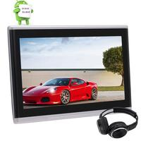10 1 Inch Universal Android 6 0 Car Headrest Monitor HD Digital TFT Touch Screen Monitor
