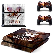 State of Decay 2  Vinyl Decal PS4 Sticker for Sony PlayStation 4 Console and Two Controller Skins Cover Kit
