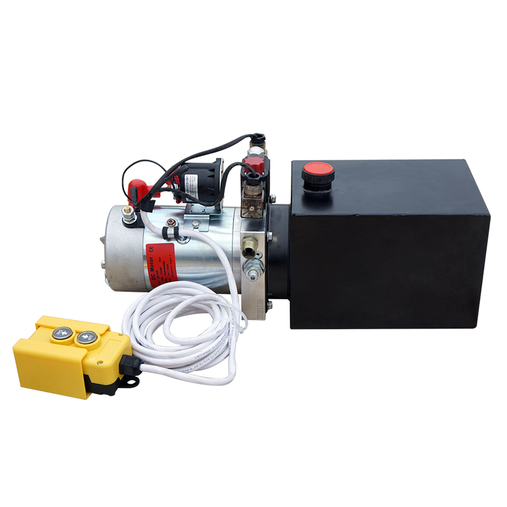 ECO-SOURCES High Quality Double Acting Hydraulic Pump12V Dump Trailer- 8  Quart Tank  3200 PSI Max.2.0 GPM pollutants spread around gweru dump site