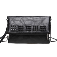Vintage Casual Small Clutch Chains Hot Sale Ladies Party Purse Women Clutch Famous Designer Shoulder Messenger