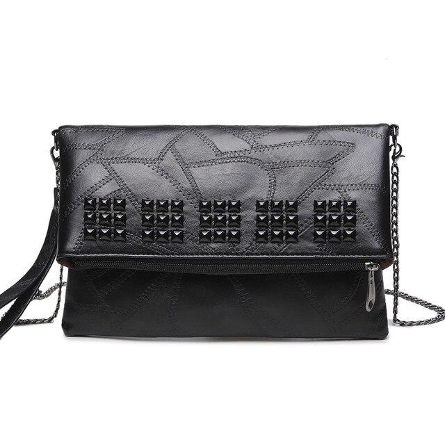 Vintage casual small clutch chains hot sale ladies party purse women clutch famous designer shoulder messenger crossbody bags