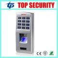 F3 поверхности водонепроницаемый металлический корпус отпечатков пальцев дверь система контроля доступа с клавиатуры IP65 отпечатков пальцев дверь