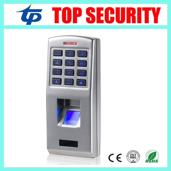 F3 metal case fingerprint door access control system with keypad biometric fingerprint door security