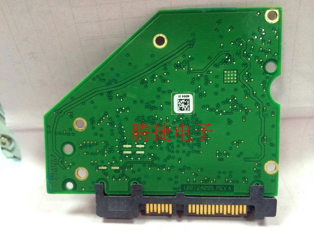 Hard Drive Parts PCB Logic Board Printed Circuit Board 100724095 REV A For Seagate 3.5 SATA Hdd Data Recovery Repair 1T 2T 3T