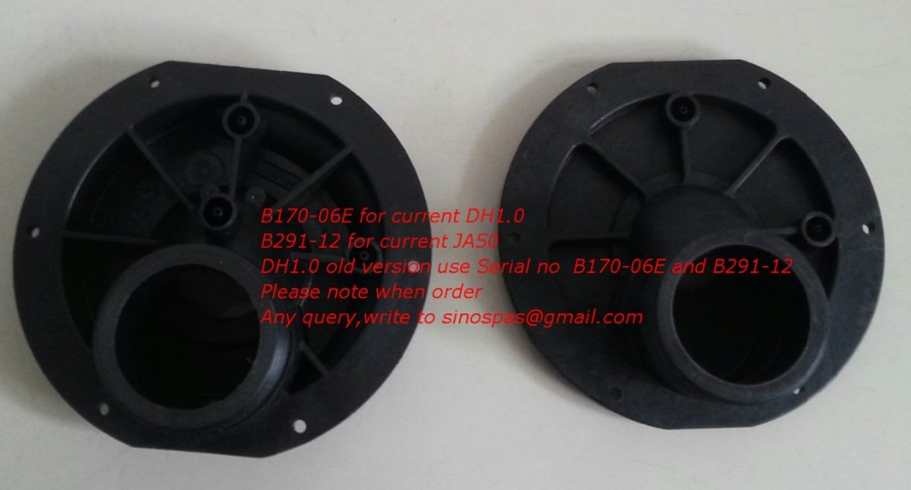 LX JA50 Pump Wet End Cover only,water Pump part for chines spa,compatible with JA 50, DH pump