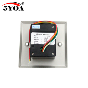 Image 3 - 5YOA Infrared Sensor Switch No Touch Contactless Door Release Exit Button with LED Indication