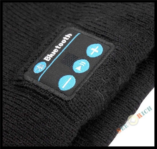 Беспроводной Bluetooth V4.2 Beanie для мальчиков и девочек, мужчин и женщин, вязаная зимняя шапка для наушников, ручной Mp3 микрофон, волшебная музыка, умная шапка+ подарочная коробка